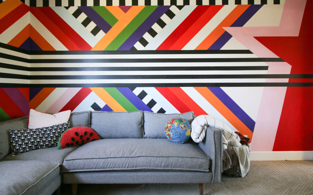 Bold Stripes and Killer Accent Walls