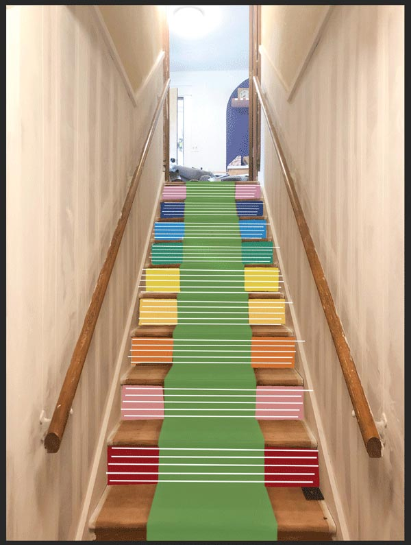 striped-risers-and-green-runner